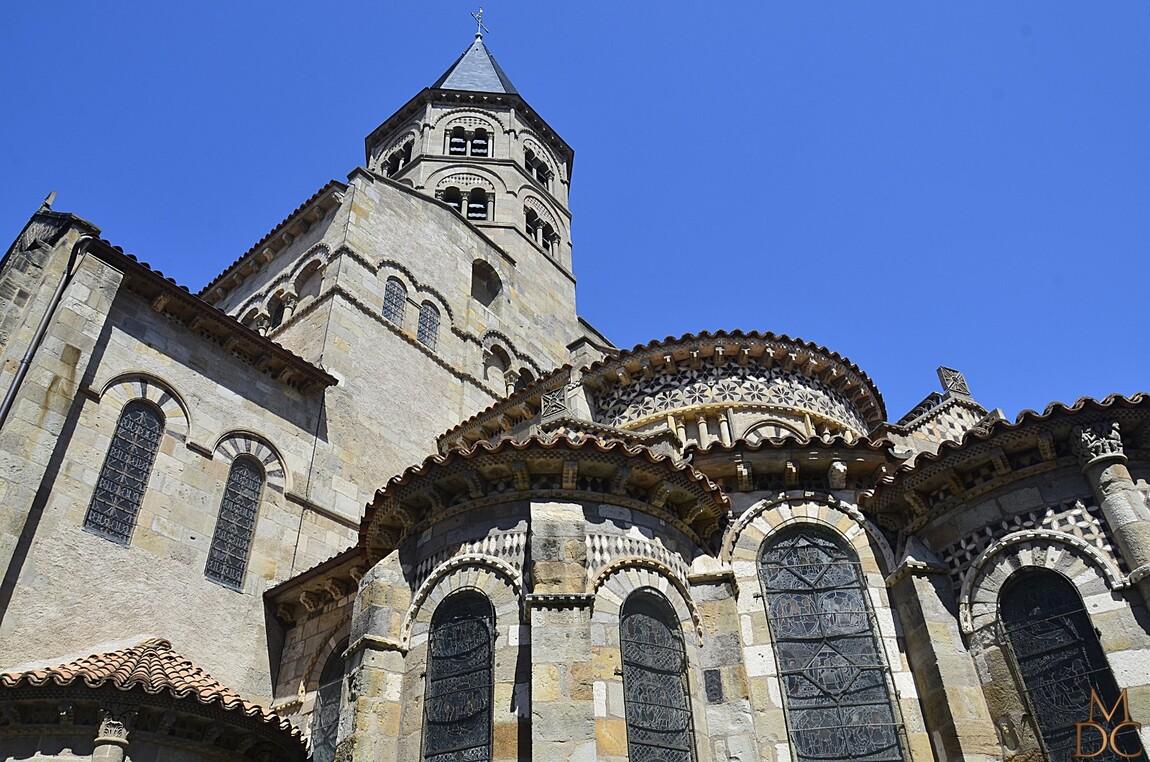 Basilique Notre-Dame-du-Port de Clermont-Ferrand (63)