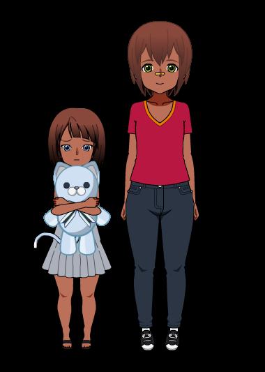 John et Pearl, les enfants d'Echo