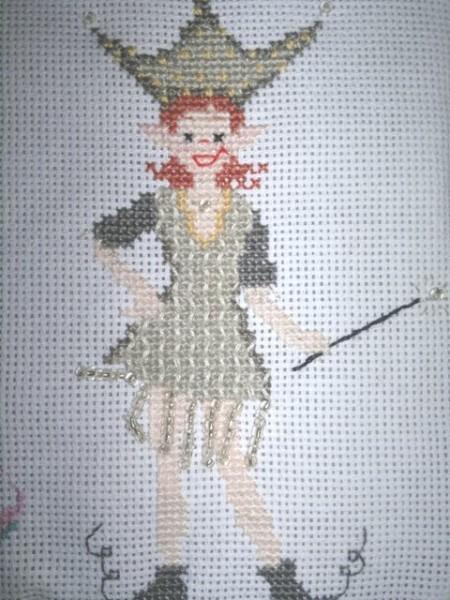 pochette couture Emily détail 2