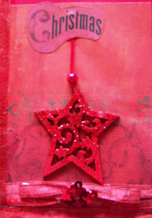 Cartes de Noël-étoile de Noël