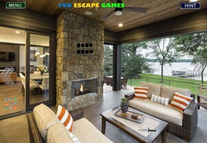 Jouer à Rustic contemporary lake house