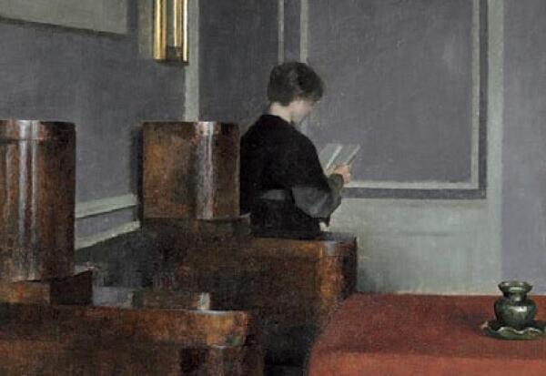 Peinture de :Vilhelm Hammershøi