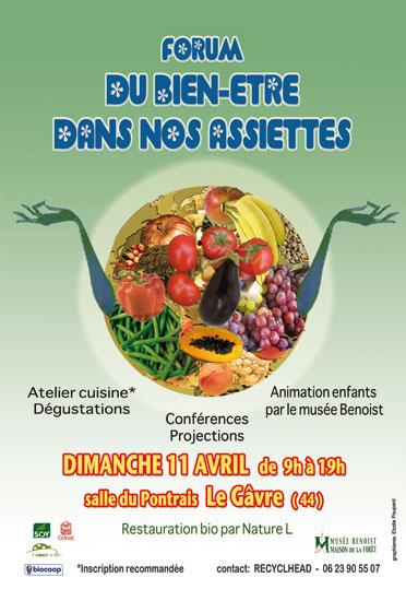 forum «Du bien-être dans nos assiettes»