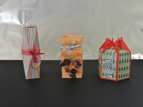 Boîtes pour les fêtes de fin d'annnée