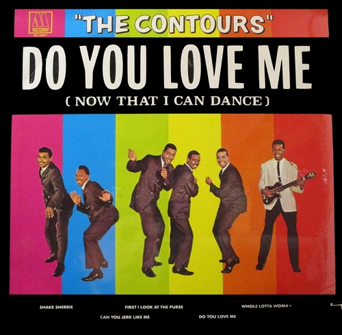 """The Contours : Album """" Do You Love Me (Now That I Can Dance) """" Motown Records M5-188V1 [ US ]"""