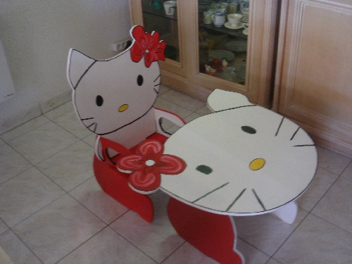 PUPITRE HELLO KITTY