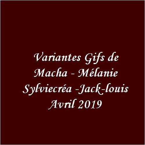Variantes Gifs du mois d'Avril 2019