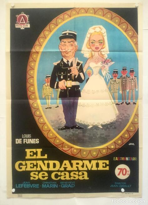 LE GENDARME SE MARIE - LOUIS DE FUNES BOX OFFICE 1968