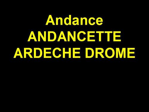 PPS MES CREATIONS  andance andancette