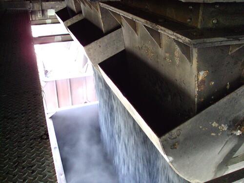Chargement de charbon