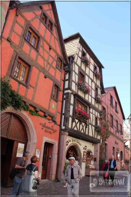 Alsace Haut-Rhin Route des Vins Riquewihr maison du cloutier Hans Brickler