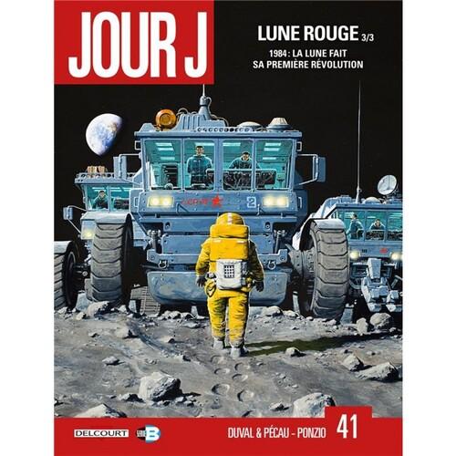 Jour J - Tome 41 Lune rouge (3/3) - Duval & Pécau & Ponzo