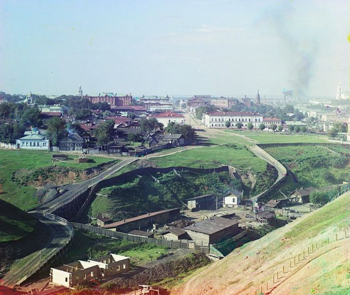 File:Sergei Mikhailovich Prokudin-Gorskii - City of Perm. General view (1910).jpg