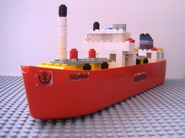 Légo n° 312 de 1973 - Le tanker.