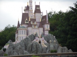 en route vers disneyland resort Paris