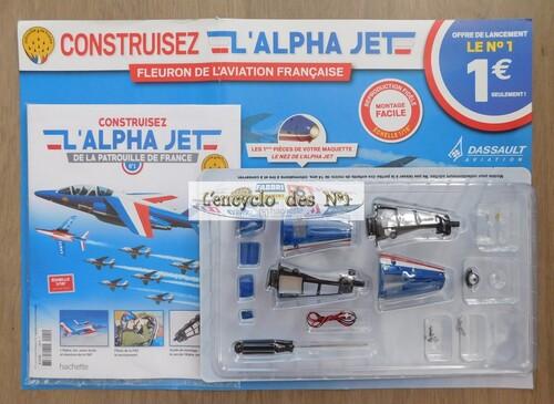 N° 1 Construisez l'Alpha Jet de la patrouille de France - Lancement