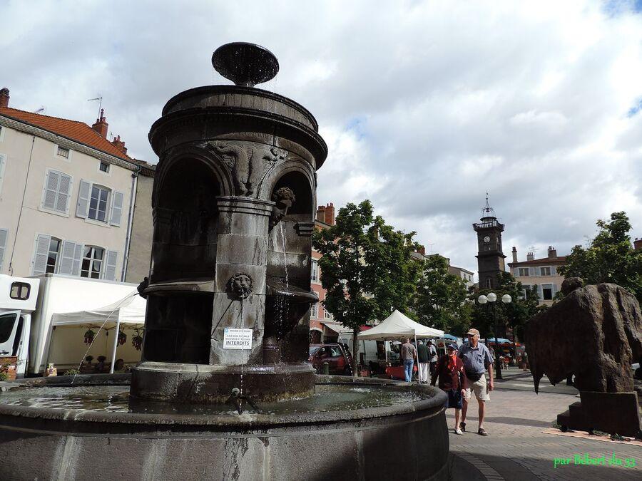 la ville d'Issoire dept63