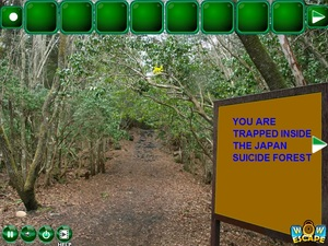Jouer à Escape from Japan suicide forest