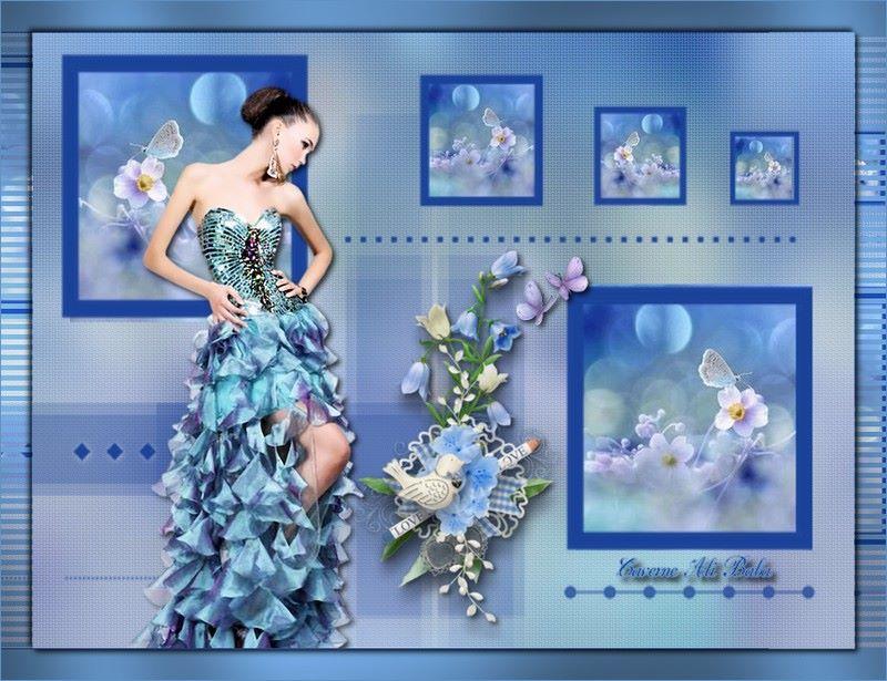Variante bleuette