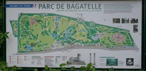 Promenade botanique à Bagatelle