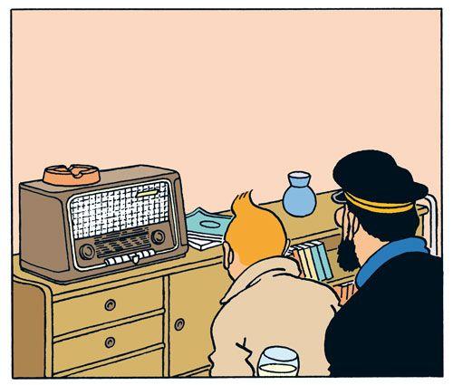 Tintin et le capitaine Haddock