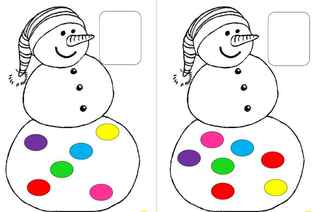 Les bonhommes de neige numériques