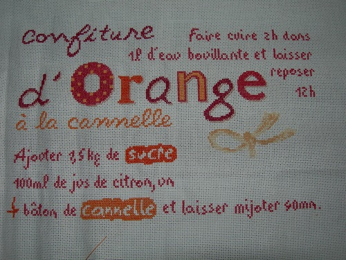 La confiture d'oranges de Lilipoints... les suites !