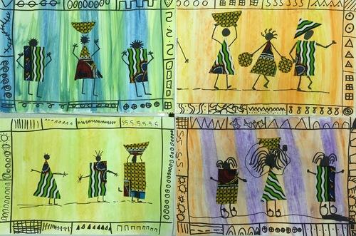 Image et les tout petits : Voyage en Afrique