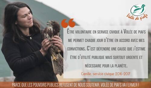 Soutenez la reconnaissance du travail des centre de sauvegarde de la faune sauvage
