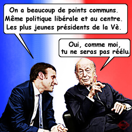 Giscard Macron