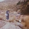 Sur le site, pyrites dans le ruisseau