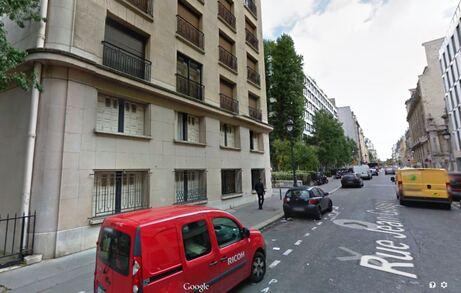 Printemps 1974, Sheila et Tom 36 rue Jean-Goujon.