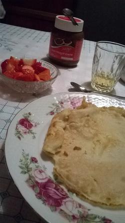 Le repas de rêve ♥
