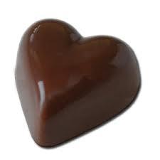 Le chocolat pour les amoureux...