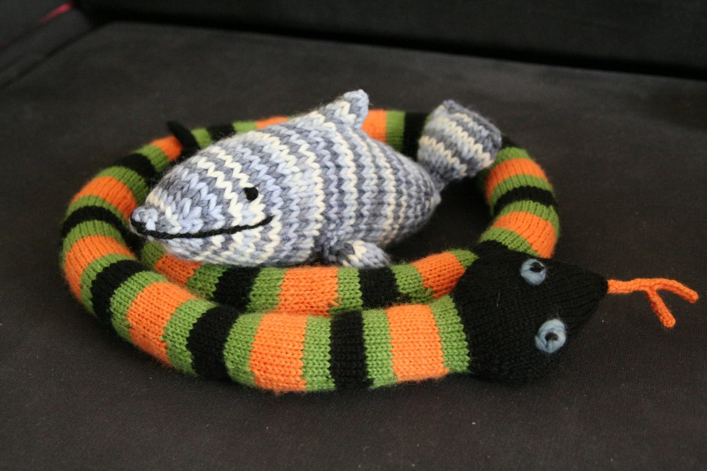 comment tricoter un dauphin