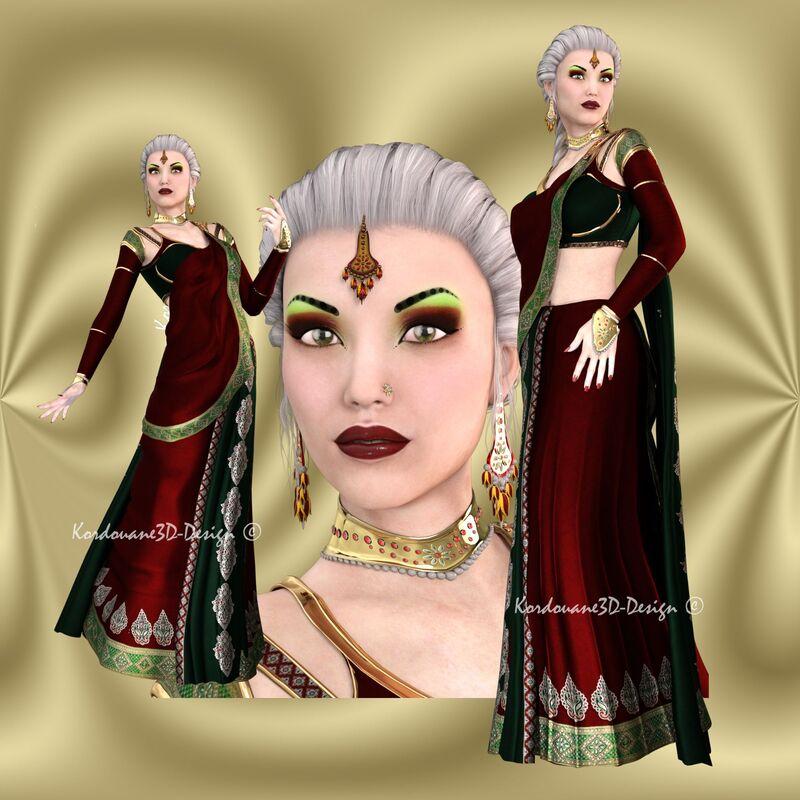 Indya (tube femme hindou-png)