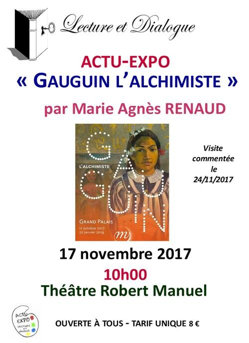 ACTU-EXPO du  vendredi 17 novembre 2017