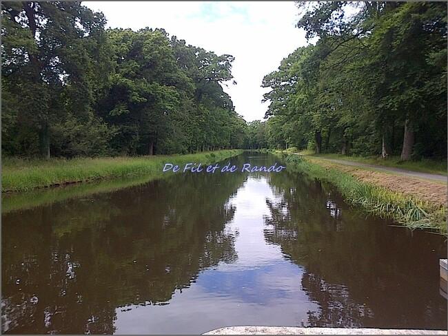 Le canal de Nantes à Brest : étape 8