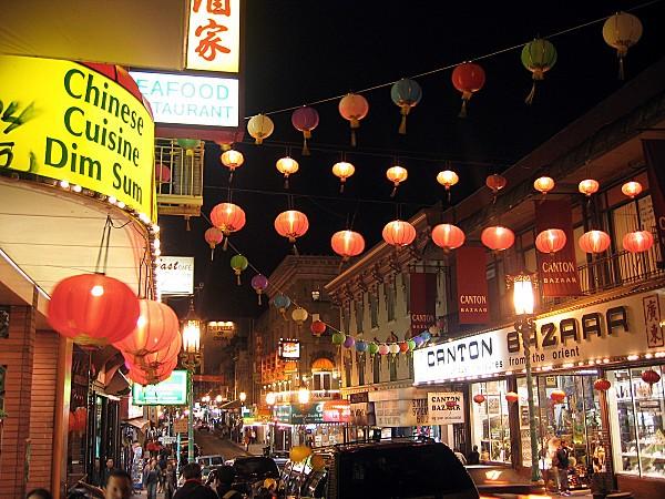 San Francisco Chinatown nuit