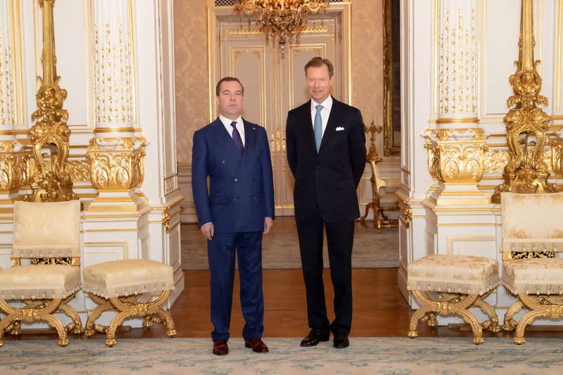 Audience pour S.E.M. Dimitri Medvedev