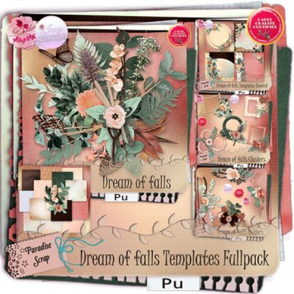 Dreams of fall Collab Josy Créations &Desclics