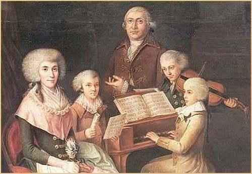 27 janvier  1756 : naissance de Wolfgang Amadeus Mozart