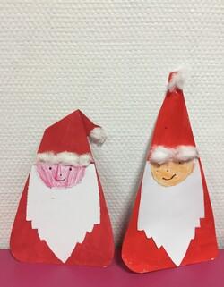 Productions arts plastiques Noël 2017