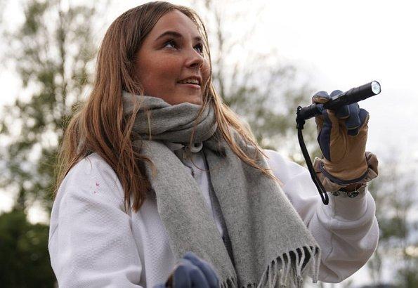 Ingrid de Norvège et les chauves souris