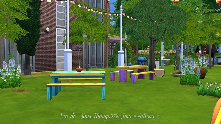 Ma cabane dans l'arbre, parc des joyeux pirates #sims4