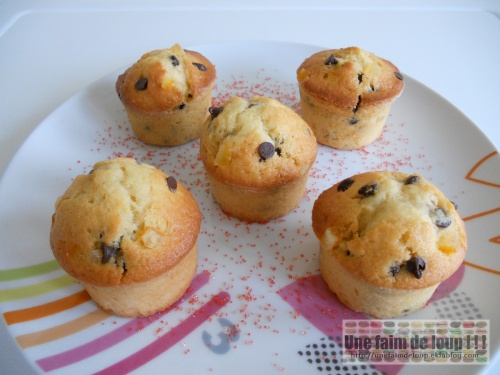Muffins Choc'Orange
