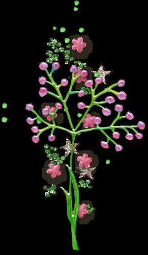 Eléments Vectoriels (fleuris) Série 17