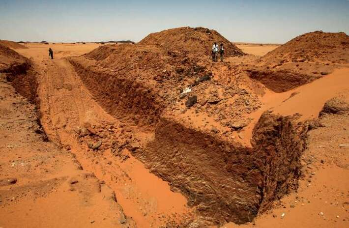 Au Soudan, les chercheurs d'or martyrisent les sites antiques
