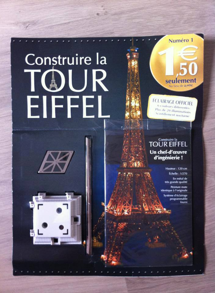 Souvent Nouvelle collection : N° 1 Construire la tour Eiffel - L' encyclo  AI69
