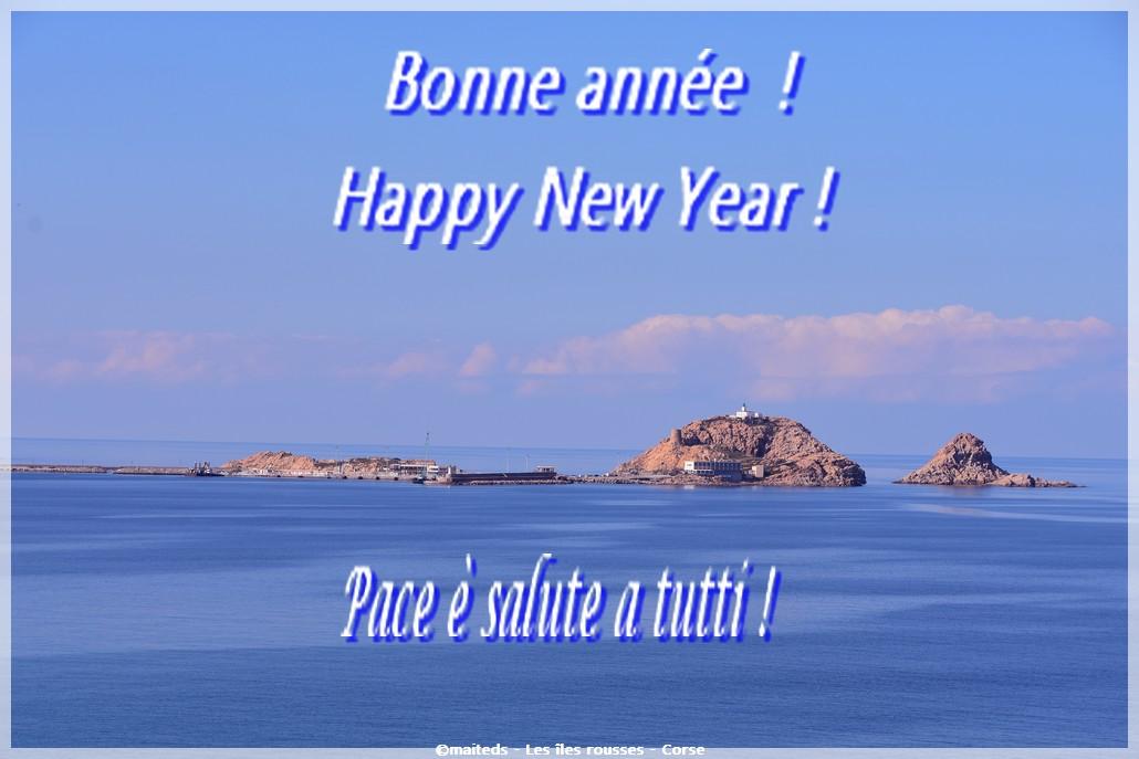 Pace è salute, bonne année, happy new year